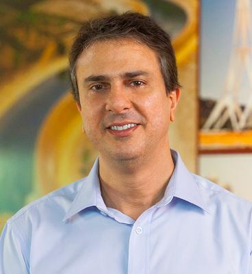 Foto oficial do Governador Camilo Santana