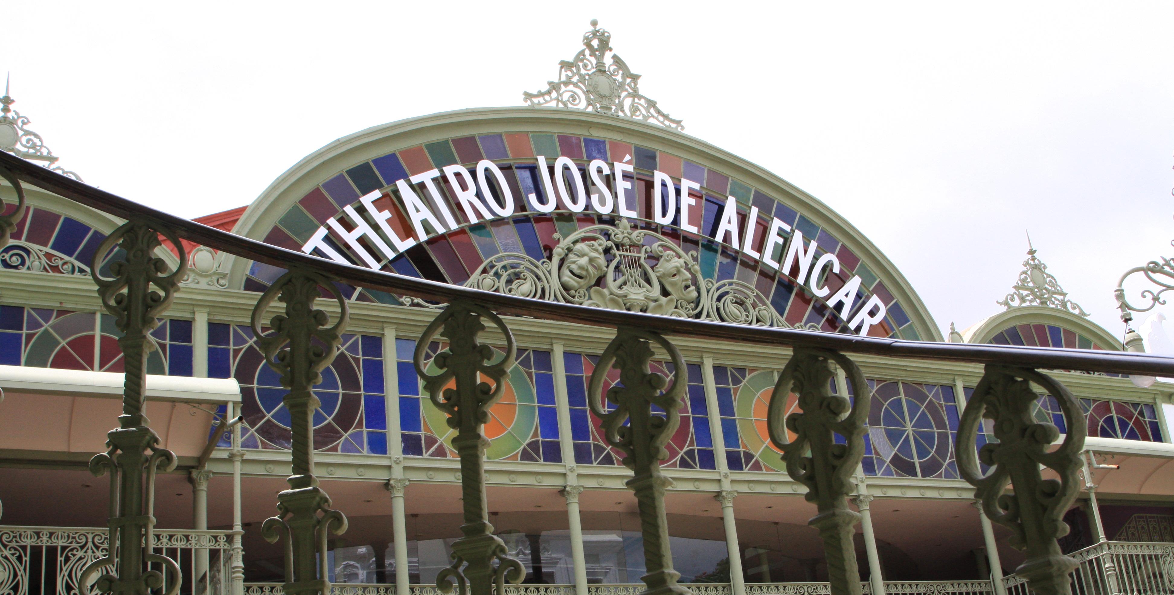 Fachada do Theatro José de Alencar 3888x1972 Foto: Acervo.