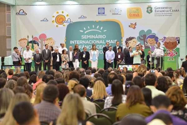 Abertura do Seminário Internacional Mais Infância Ceará: Criança é Prioridade