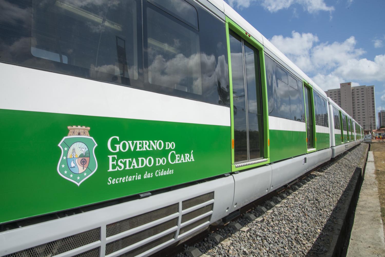 Veículo Leve sobre Trilhos - Metrofor - VLT - Projeto especial Foto: Marcos Studart
