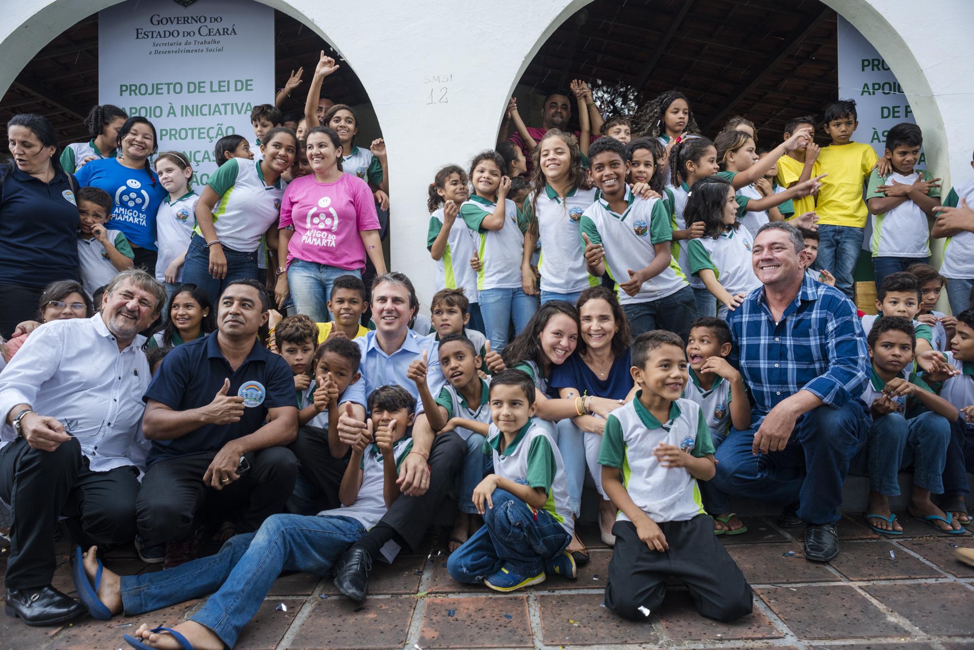 Os sonhos de cerca de 250 meninos e meninas em situação de vulnerabilidade se revigoraram nesta quarta-feira (6).