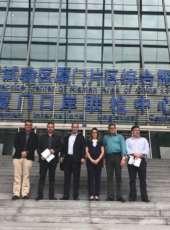 Comitiva do Ceará visita zona econômica especial e porto de Xiamen