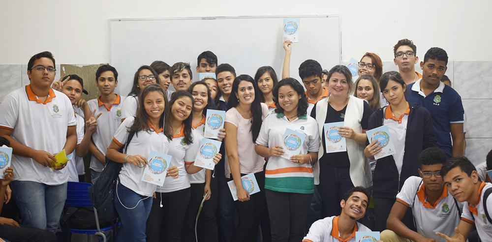 Ao todo, cerca de 40 alunos discutiram sobre a importância do controle social na gestão pública
