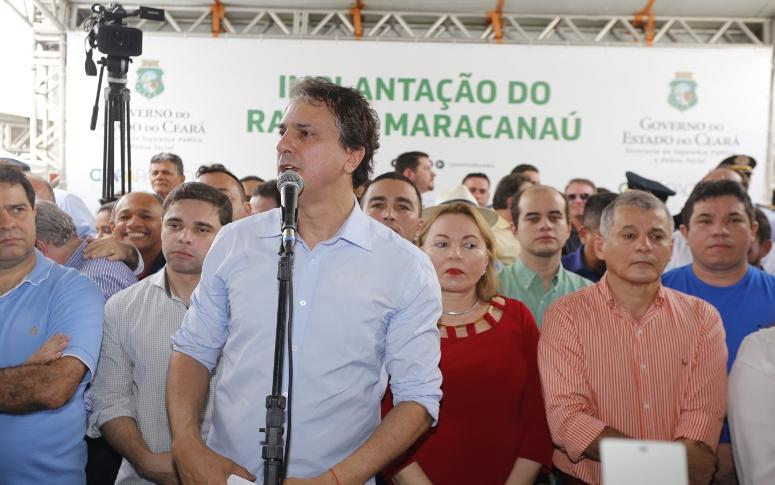 Maracanaú: Governo do Ceará amplia segurança na RMF com sede fixa do BPRaio