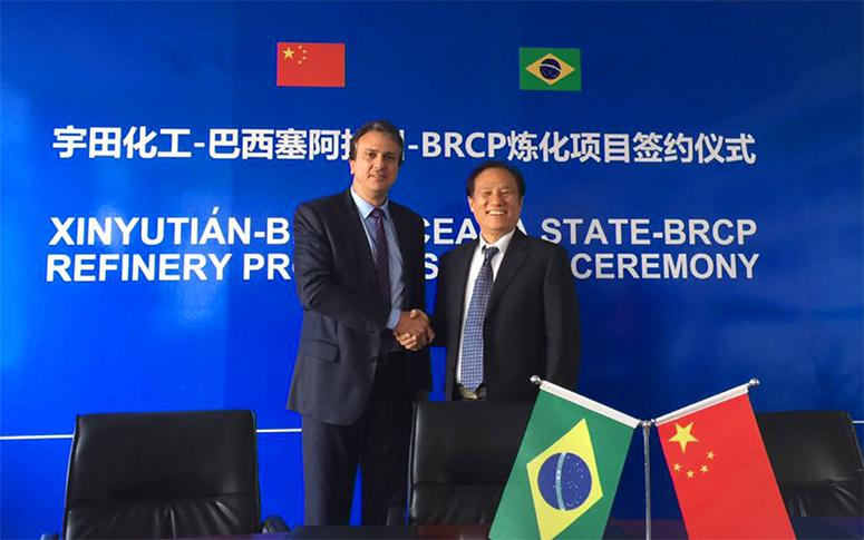 Negociações para refinaria no CE avançam após encontro com empresa e banco chinês