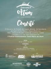 Fortaleza sedia o I Festival Gastronômico Ceará Mares do Atum nesta quarta (25)