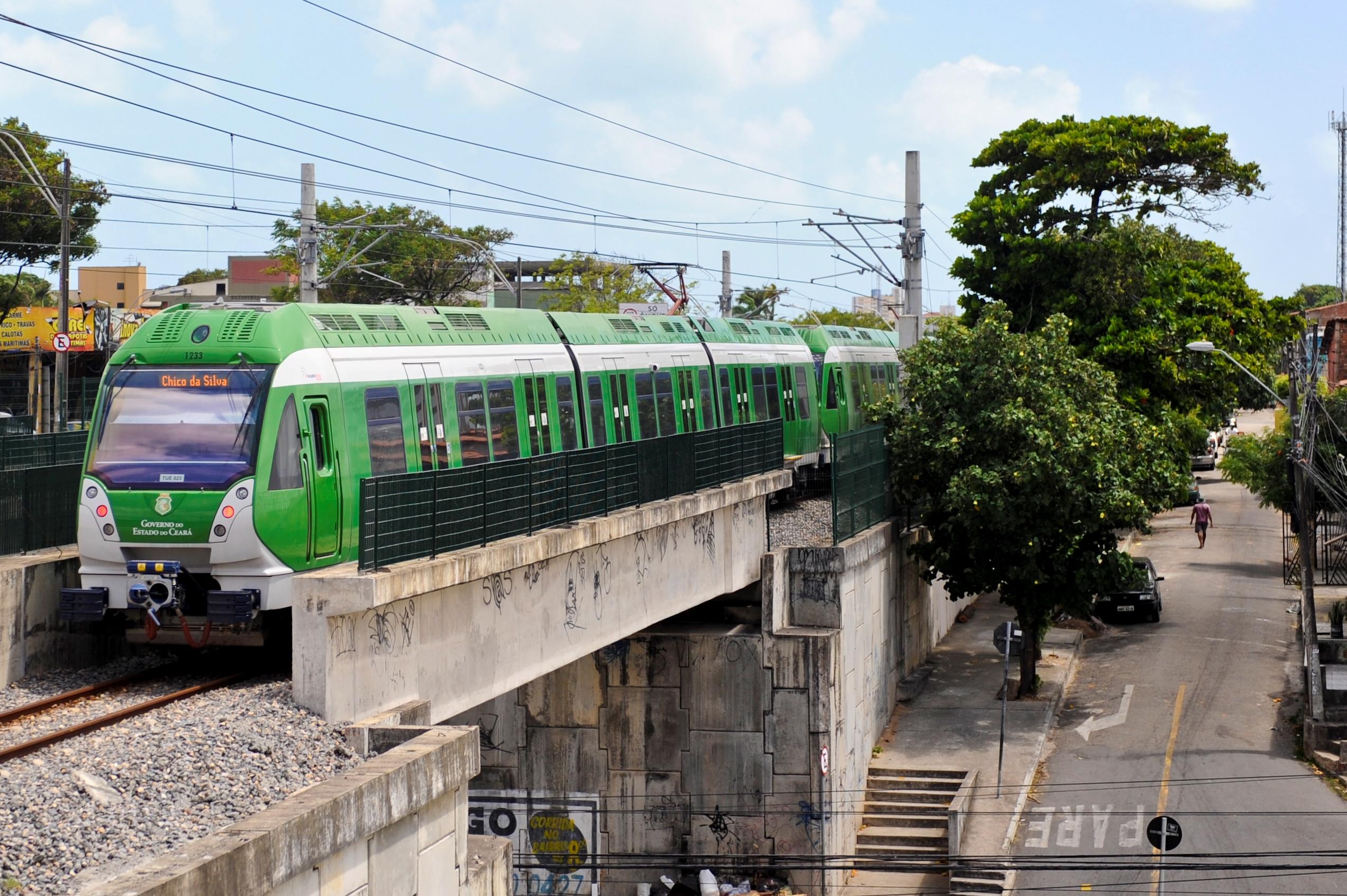 O Metrô de Fortaleza recebeu da Secretaria Estadual do Meio Ambiente (SEMACE) licença ambiental para continuidade das obras da Estação Padre Cícero.