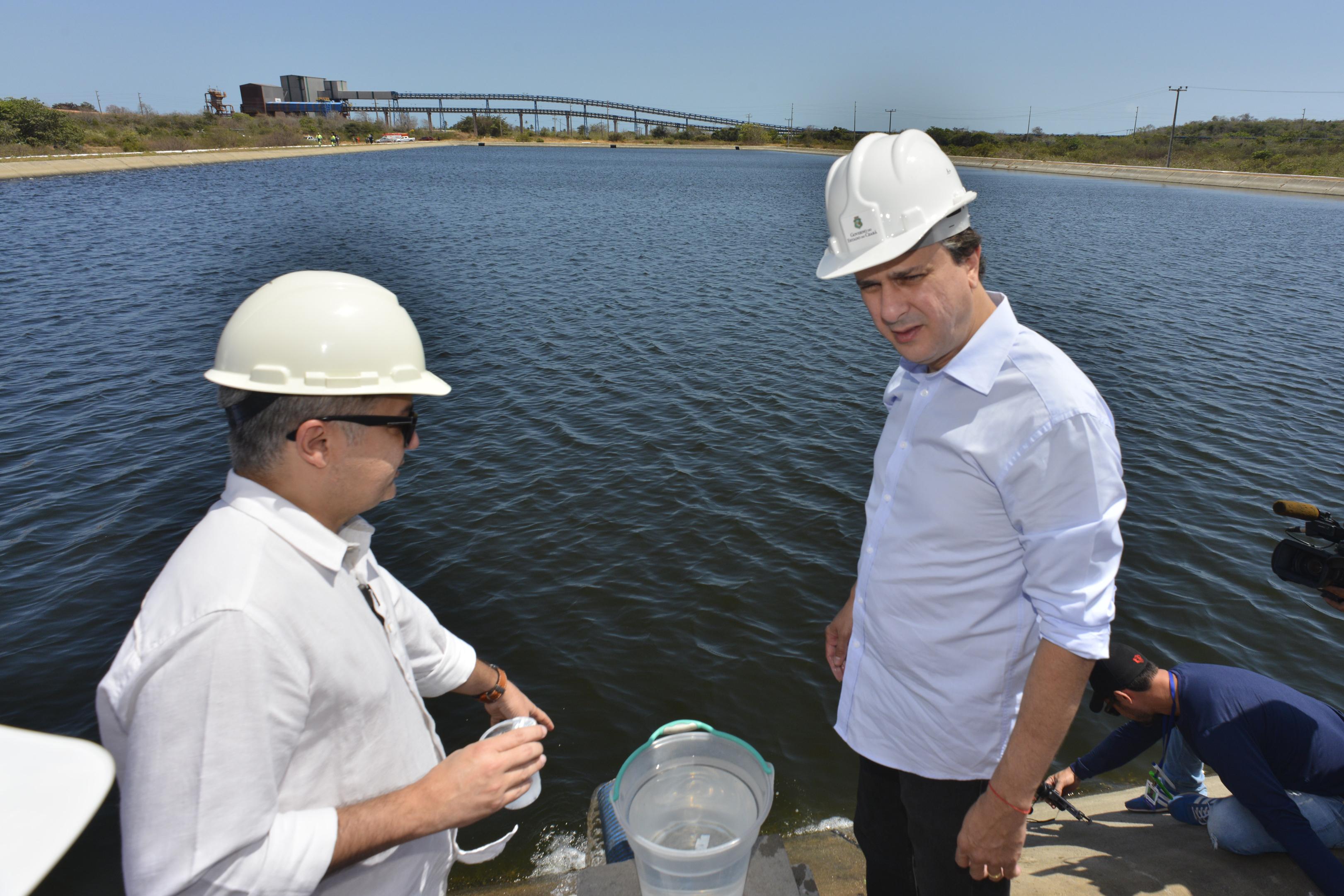Garantir o uso consciente de água enquanto abastece um grande polo que movimenta a economia cearense.