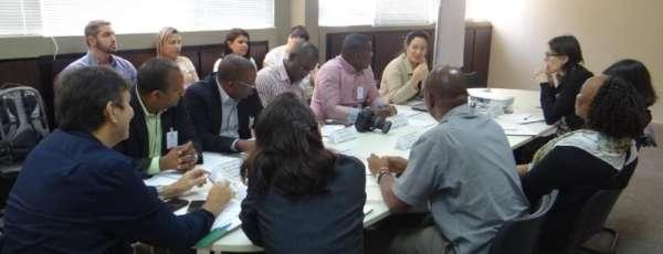 Nesta quarta-feira (25), o secretário Adjunto das Cidades, Germano Fonteles, recebeu a visita da delegação do governo de Moçambique e consultoras do Banco Mundial.
