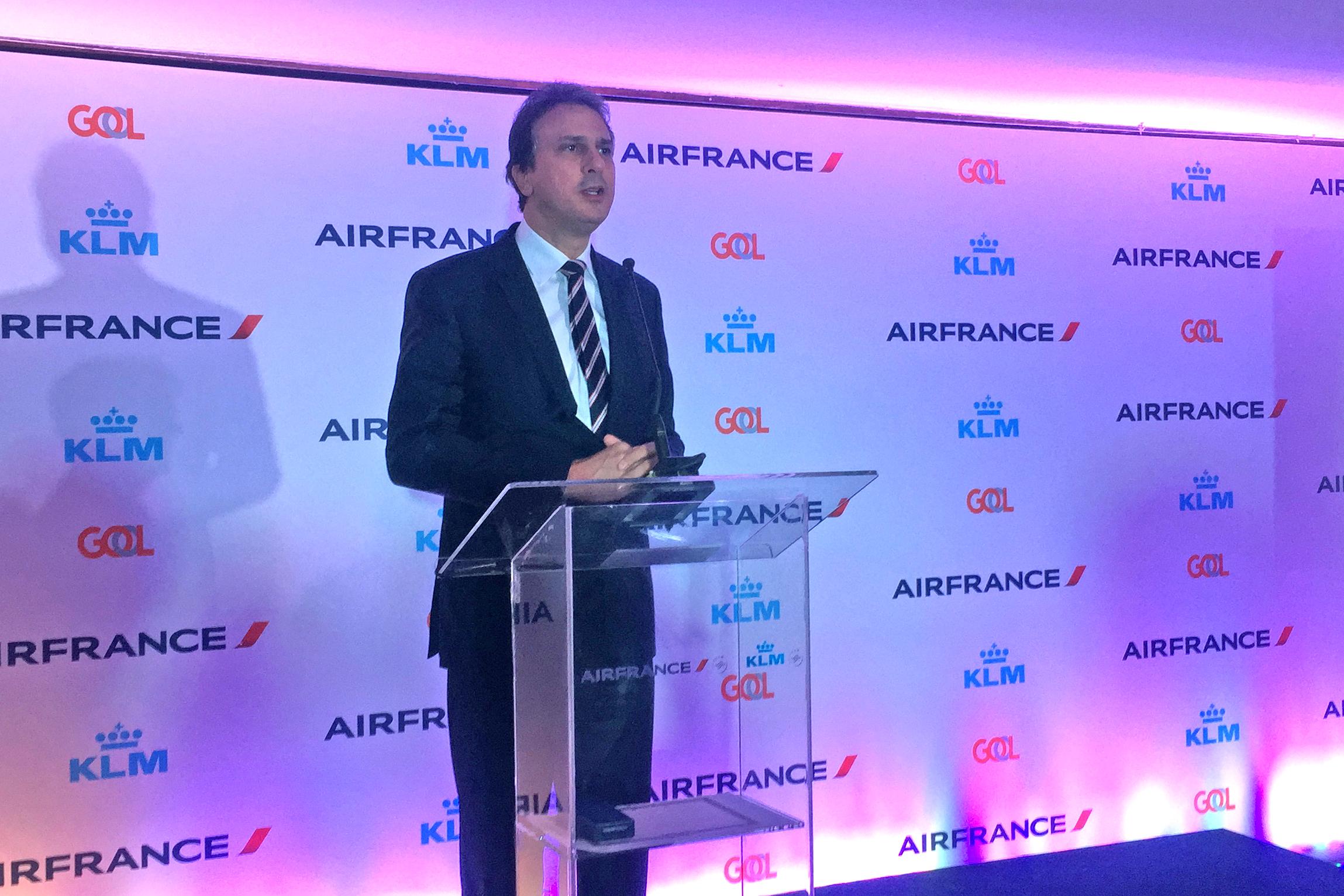 Solenidade em São Paulo oficializa HUB da Air France/KLM/Gol em Fortaleza