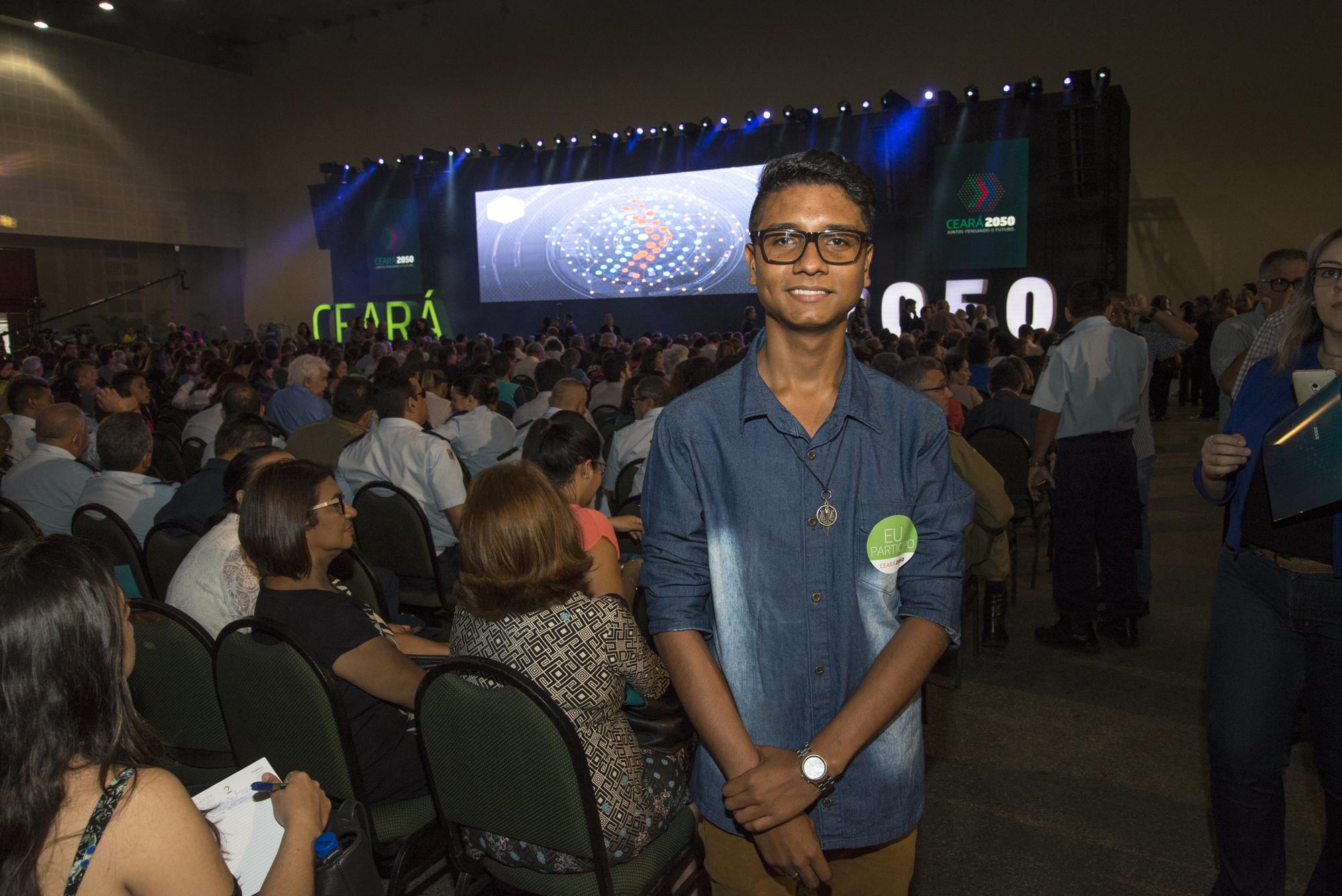 Nesta segunda-feira (2), o governador Camilo Santana apresentou a um público de cerca de quatro mil pessoas a Plataforma Estratégica de Desenvolvimento de Longo Prazo