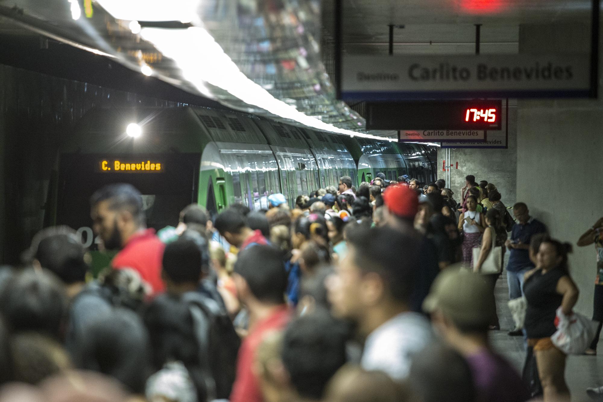 Repetindo a tendência de anos anteriores, a Linha Sul do Metrô de Fortaleza registrou crescimento no número de passageiros nos dois primeiros quadrimestres deste ano.