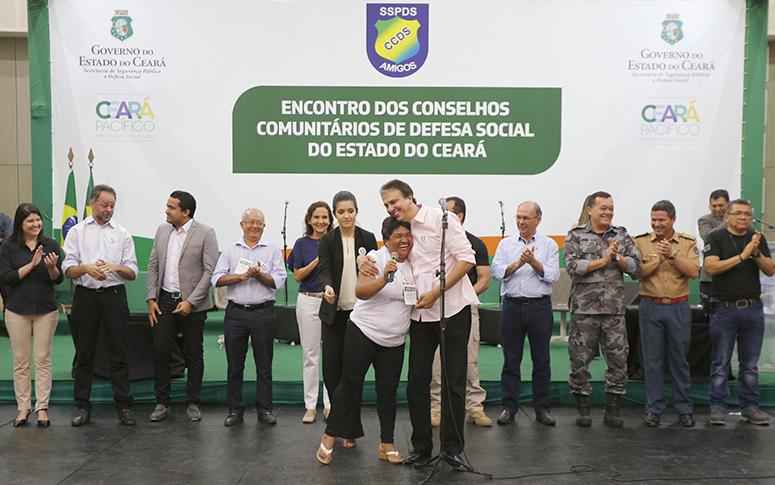 Governo do Ceará debate soluções para a segurança com conselhos comunitários
