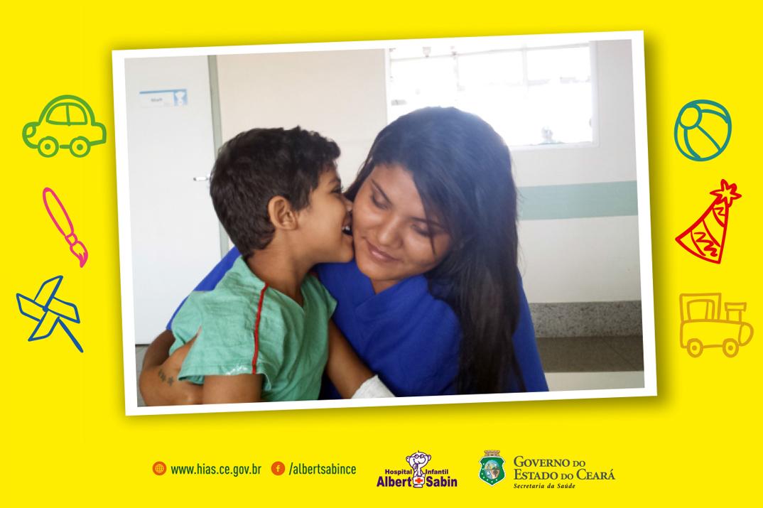 Hospital Albert Sabin tem programação especial para crianças