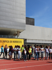 Ceará Pacífico: jovens realizam visita guiada ao CFO