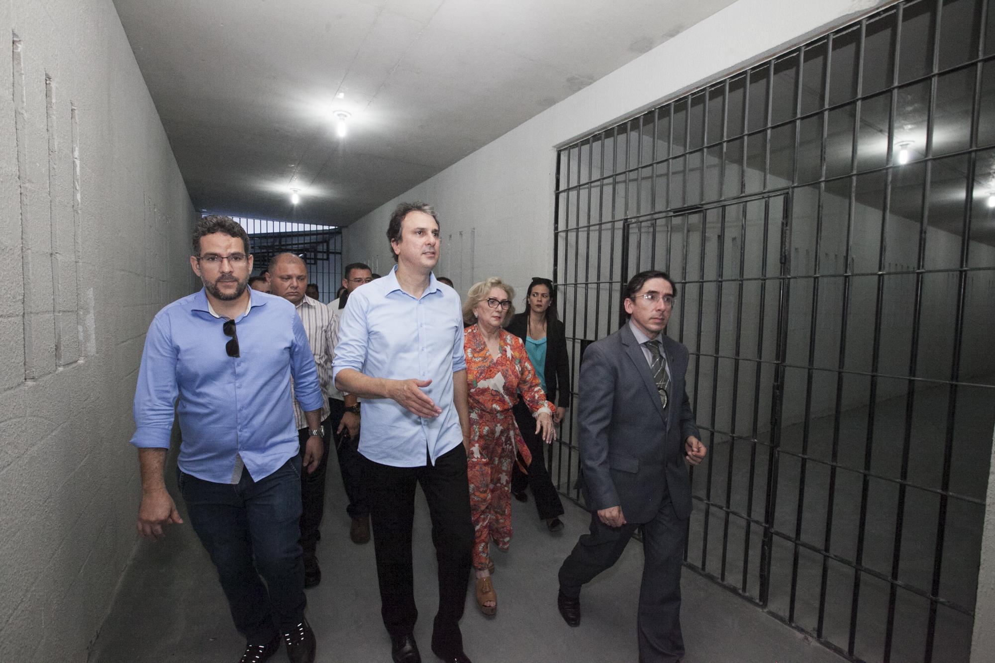Inaugurada Nova Unidade Prisional Em Itaitinga Com