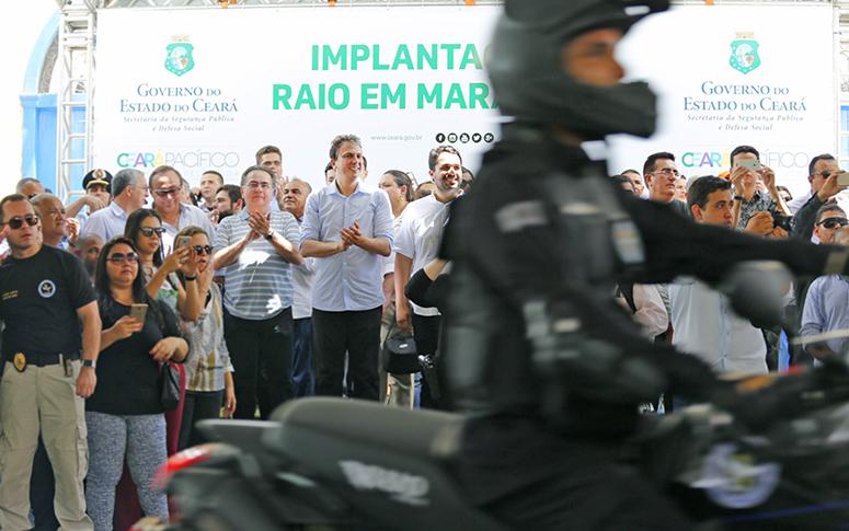 Governo do Ceará entrega BPRaio e anuncia construção de nova delegacia 24h em Maranguape