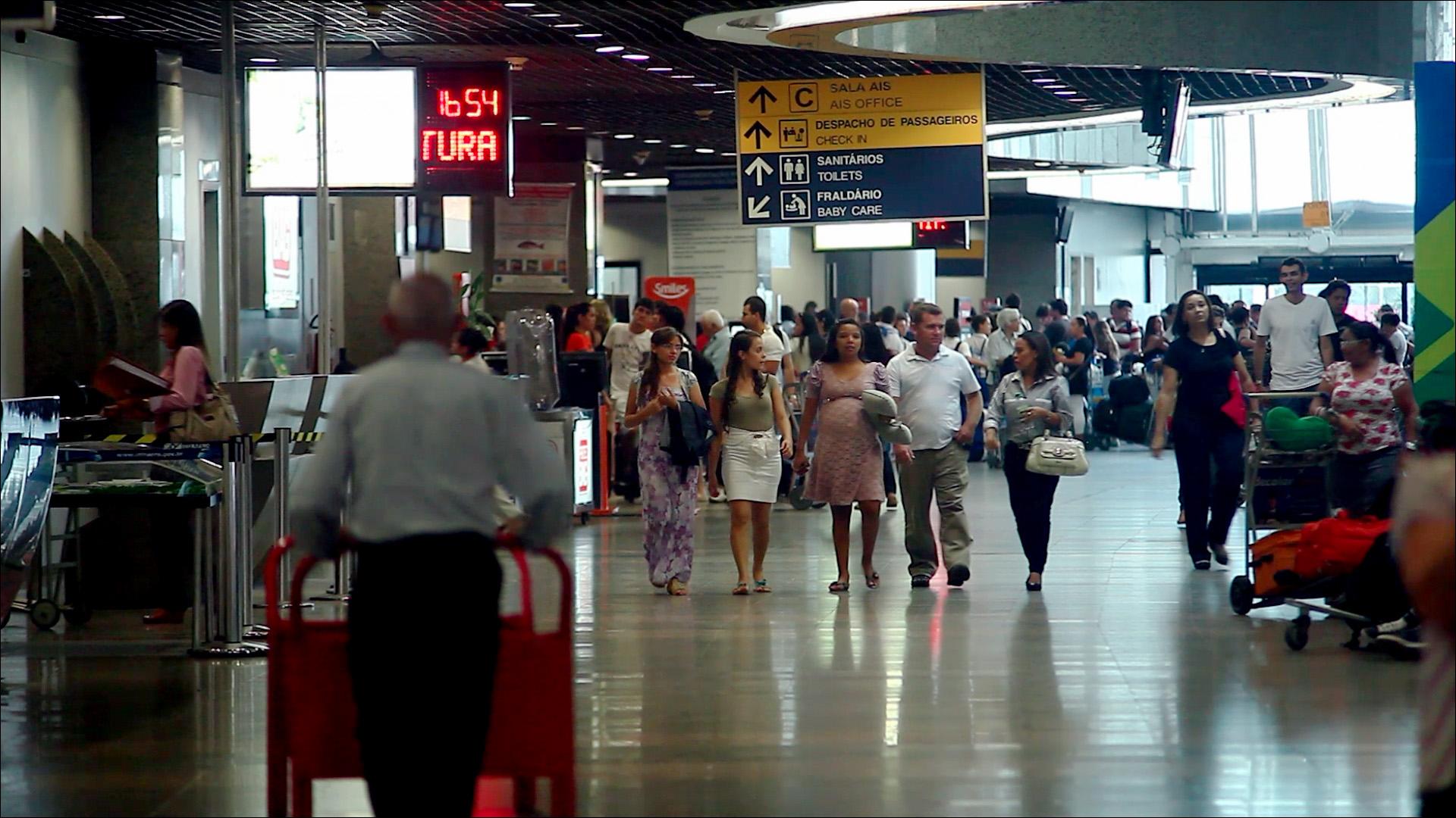 Movimentação de passageiros em voos internacionais cresce 11,7% em Fortaleza
