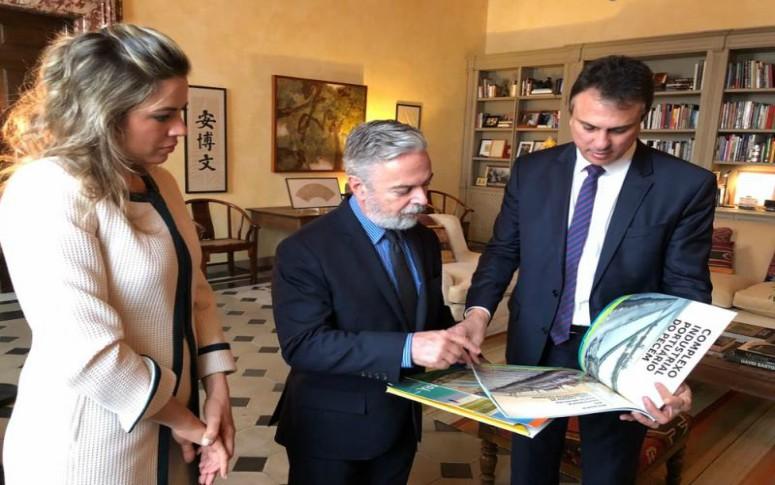 Governador se reúne com embaixador para debater parcerias entre Ceará e Itália