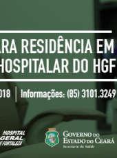 HGF inscreve para Residência em Odontologia Hospitalar
