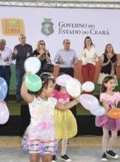 Primeira-dama do Ceará participa de lançamento do Cartão Mais Infância para 477 famílias em Maranguape