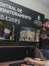 Sistema de videomonitoramento e BPRaio são implantados para reforçar a segurança em Horizonte