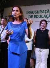 Izolda Cela participa de inauguração de Centro Educacional Infantil em São Gonçalo do Amarante