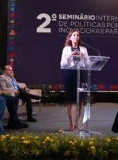 Vice-governadora participa de seminário para debater políticas públicas inovadoras para cidades
