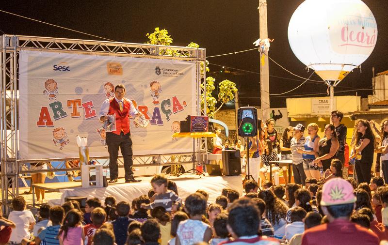 Fortaleza, Aracati, Forquilha e Salitre recebem, neste sábado (3), o Arte  na Praça, programação de arte, lazer e cultura para crianças e famílias nas  praças ... ec4d1a9d70