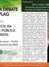 Fórum Ceará em Debate traz palestra da economista Ana Carla Abrão