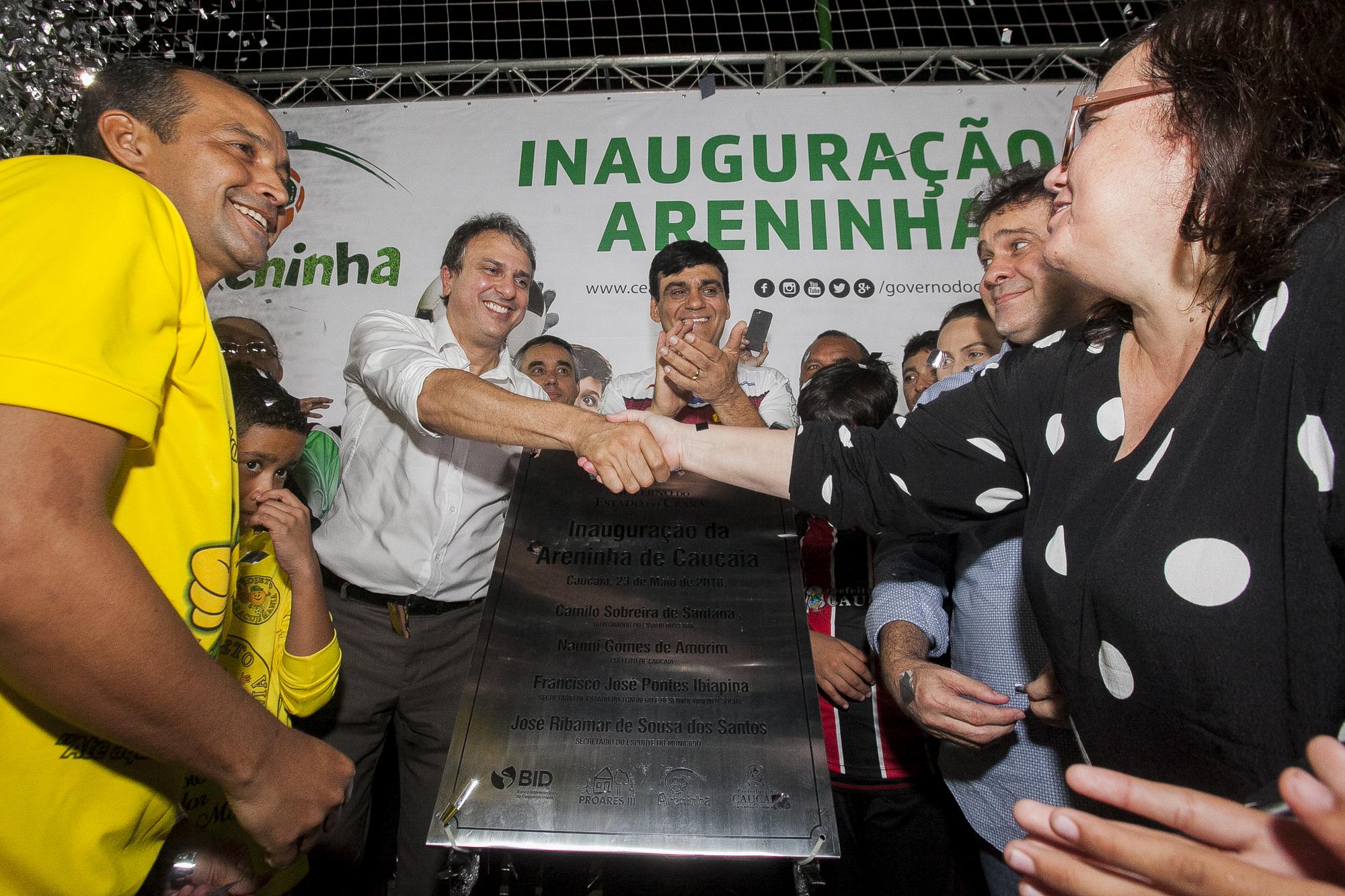 Inaugurada a Areninha de Caucaia