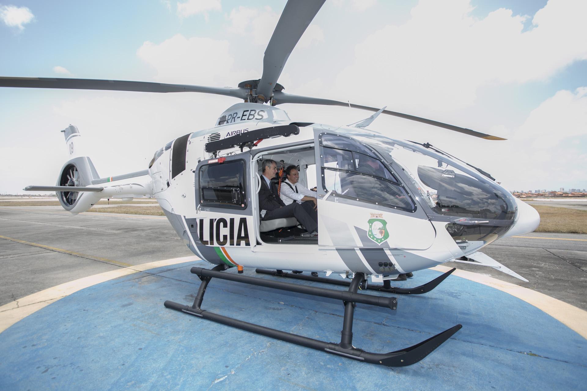 Com entrega de dois novos helicópteros para Ciopaer, Ceará passa a ter terceira maior frota policial de aeronaves do Brasil