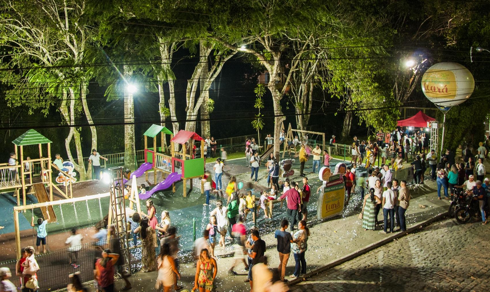 Uma nova opção de lazer para as crianças brincarem e se desenvolverem será  inaugurada nesta quinta-feira (14), em Choró, no Sertão Central do Estado. 2cb998b910