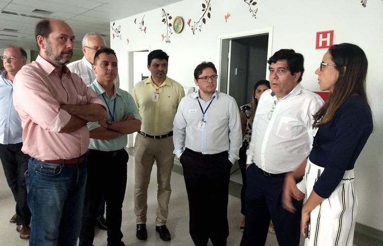 Resultado de imagem para Hospital Regional Norte recebe visita do Secretário da Saúde do Estado