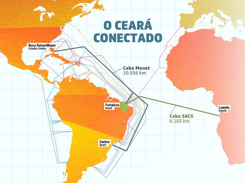 Ceará investe em infraestrutura para atrair novas empresas do setor de TIC
