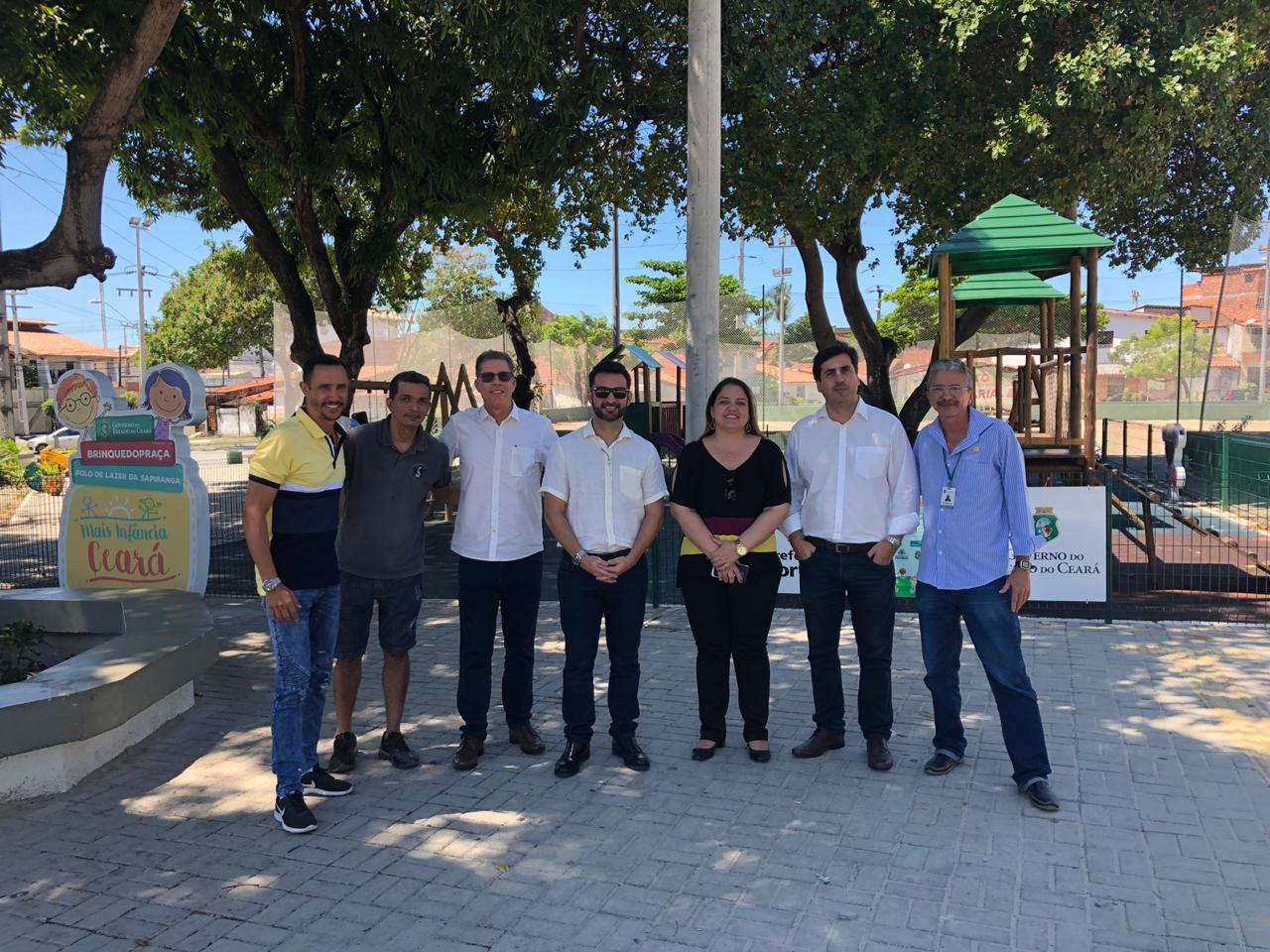 comitiva de Alagoas visita equipamentos