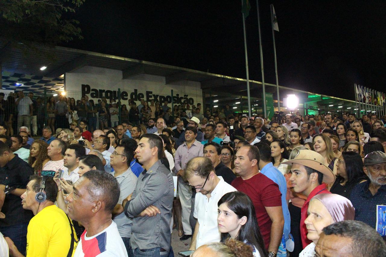 Cariri festeja abertura da Expocrato