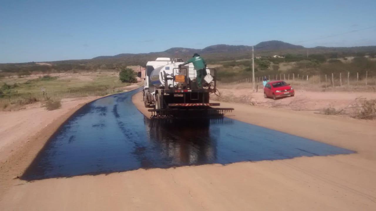 Governo avança em obras de melhoria das estradas