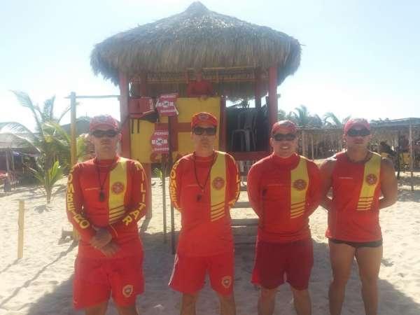 equipe de bombeiros