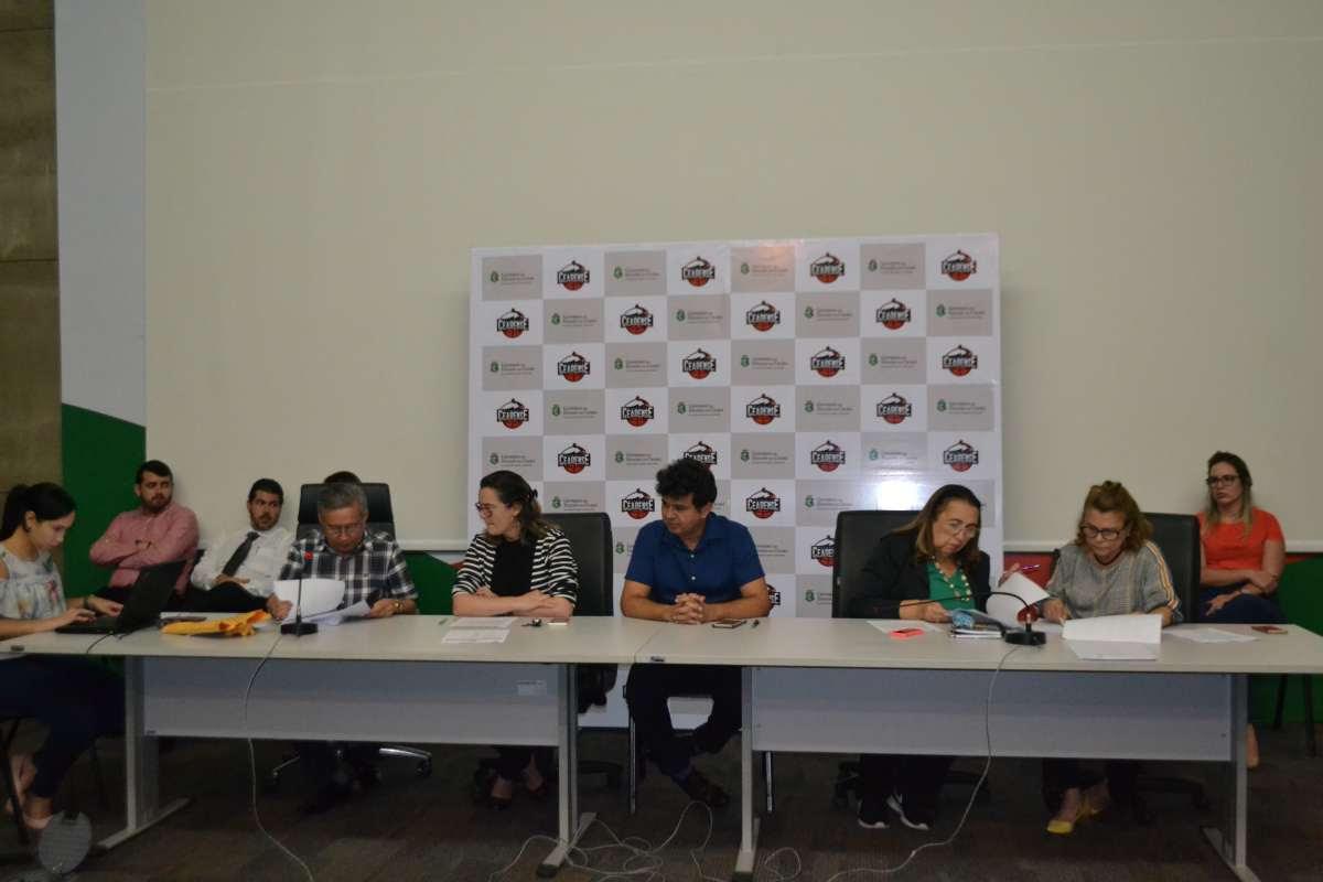 foto da comissão avaliadora