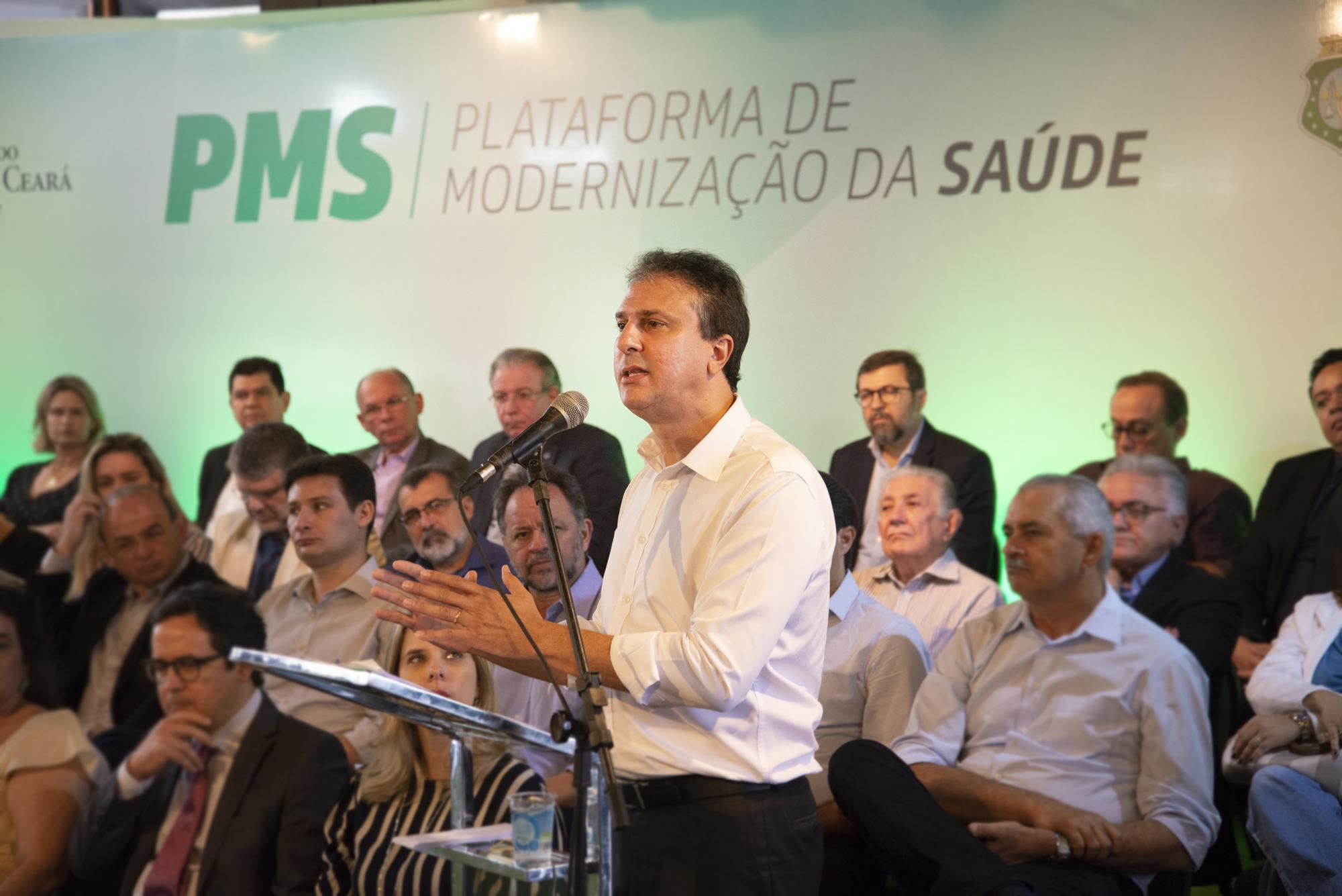 governador anuncia pacote de ações para a saúde