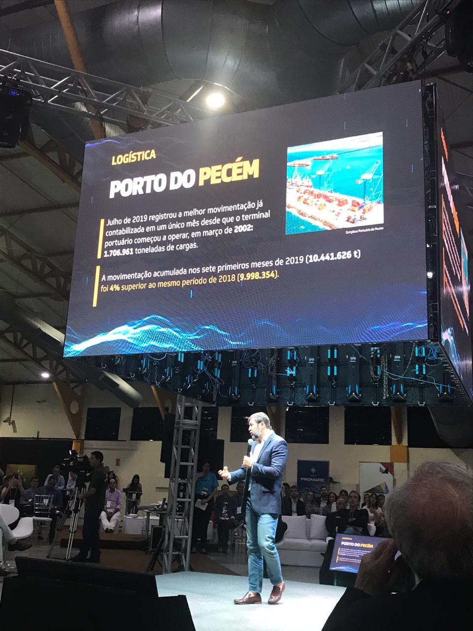 Complexo do Pecém é destaque no Ceará Global 2019