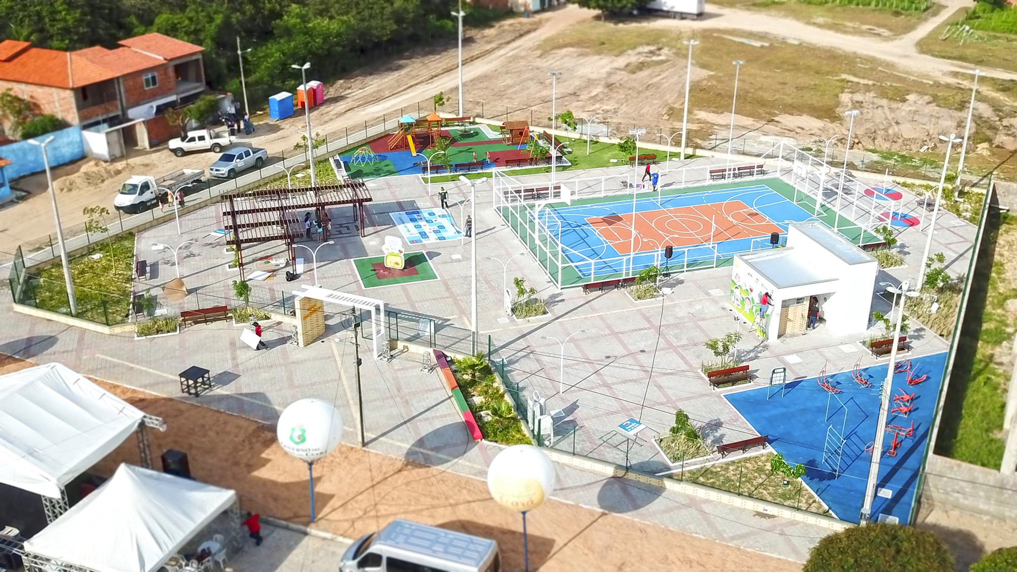 Praça Mais Infância do Ceará será inaugurada em Camocim