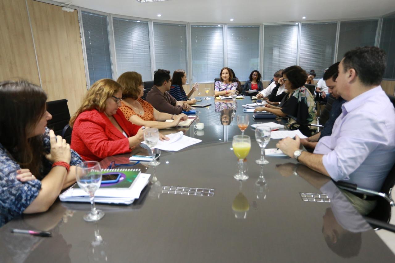 """Reunião na Vice-Governadoria discute a implantação da plataforma """"Educação Livre"""""""