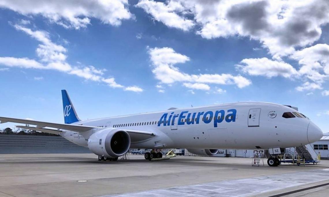 Air Europa confirma início das operações Madri-Fortaleza a partir de dezembro