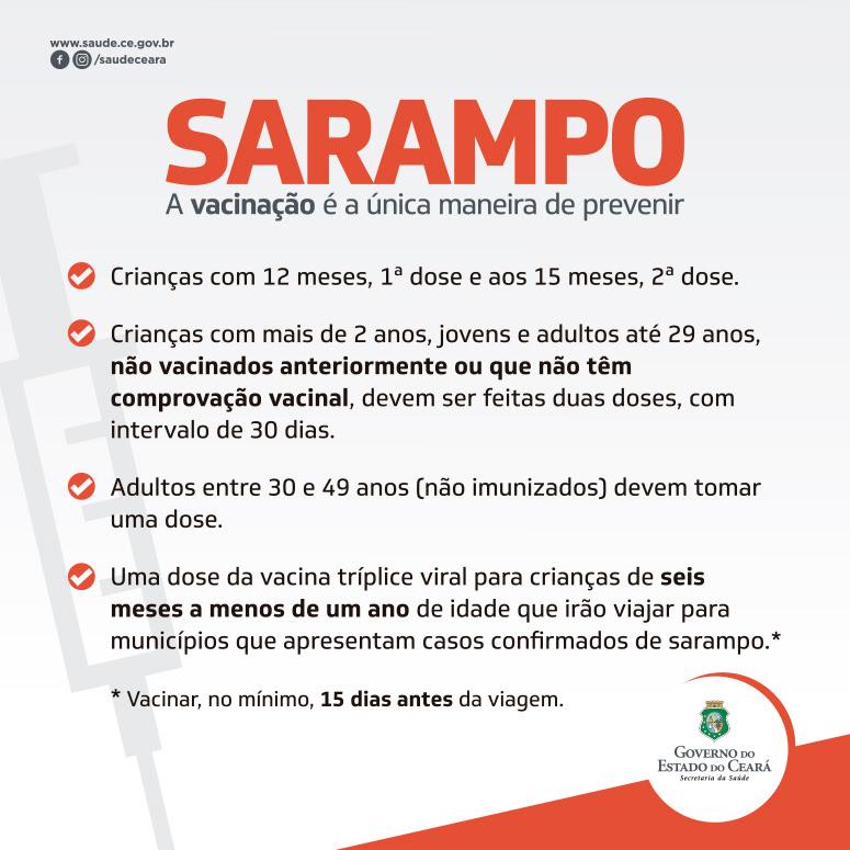banner vacinação sarampo