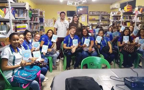 Escola Tenente Mário Lima em Maracanaú recebe a palestra Caminhos da Cidadania