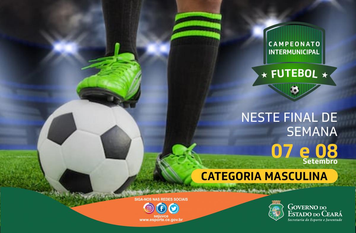 banner campeonato intermunicipal de futebol