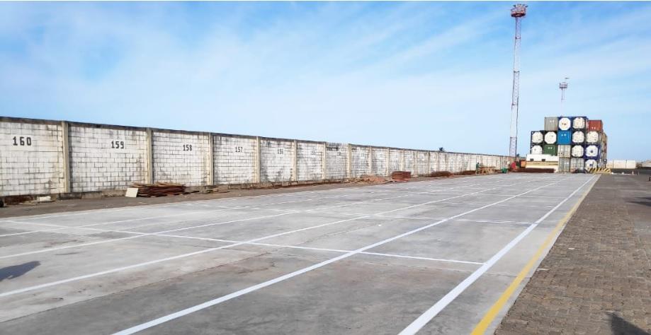 Área de cargas perigosas é ampliada no Porto do Pecém