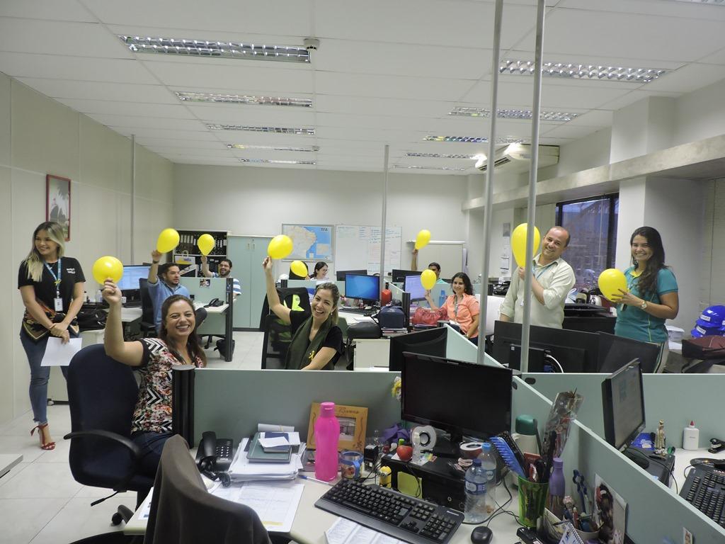 Setembro Amarelo sensibiliza profissionais do Complexo do Pecém